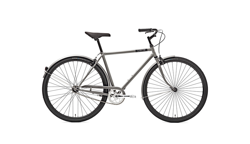 Creme Caferacer Men Solo 3-speed silver